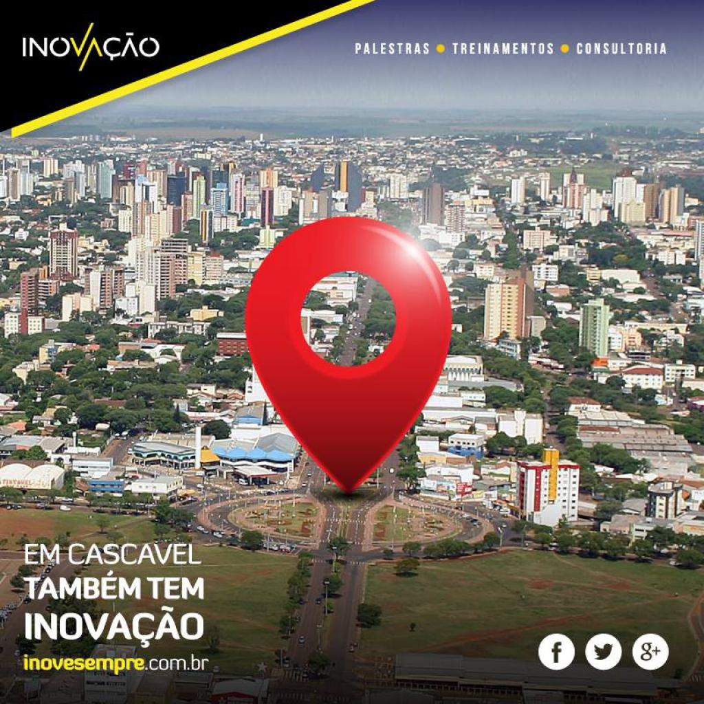 Inovação Consultoria inaugura sua segunda franquia, agora em Cascavel! São 6 unidades no Brasil inovando sempre!