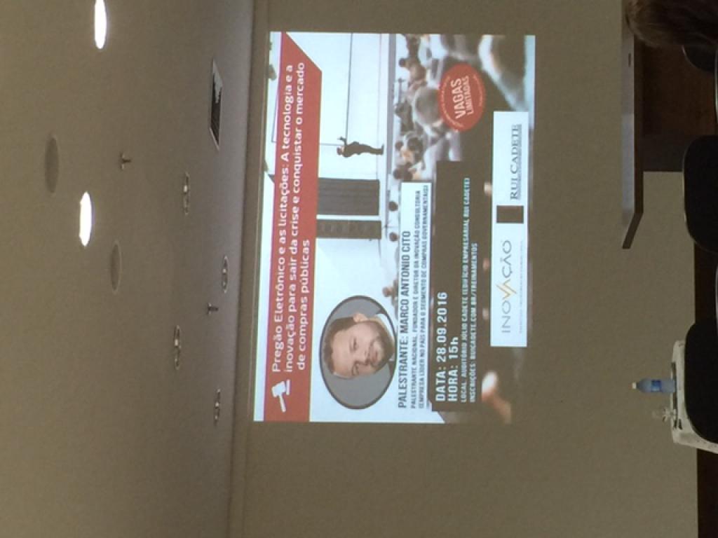 Palestra em NATAL - RN para 30 empresas interessadas em conhecer mais o pregão eletrônico