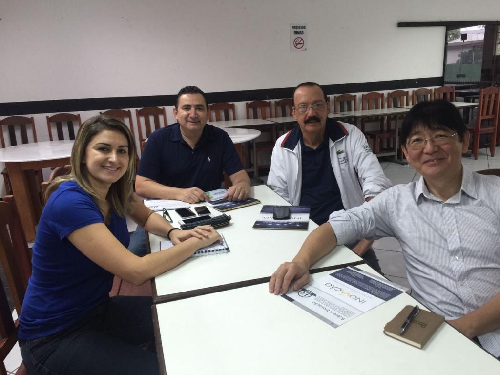 Treinamento para novos franqueados de Jaraguá do Sul e Mafra-SC