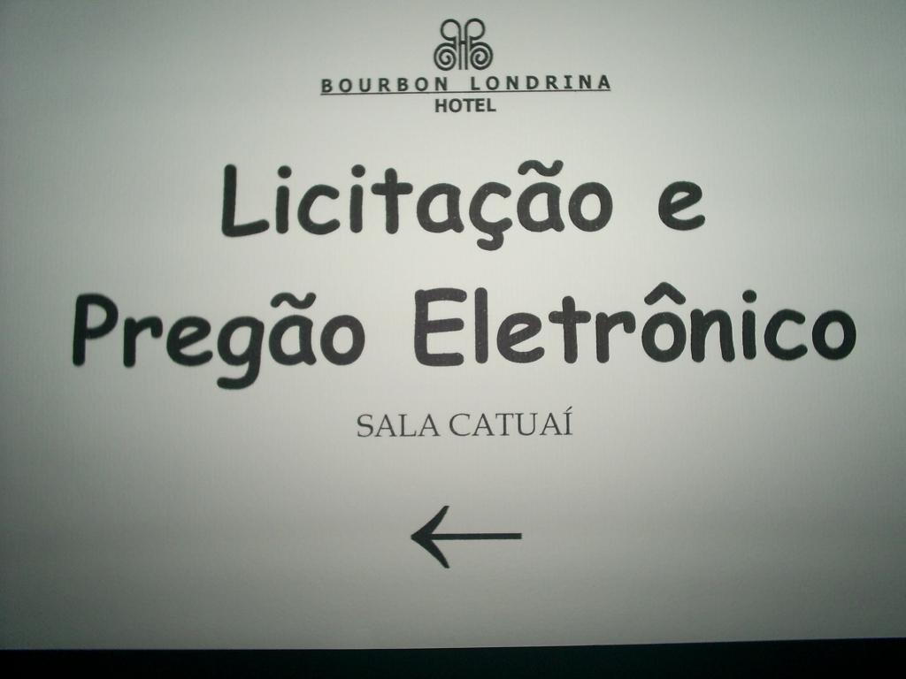 Licitação e Pregão Eletrônico - Setembro 2007