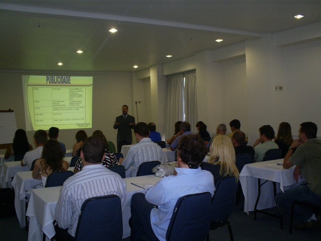 Licitação e Pregão Eletrônico - Porto Alegre - Março 2008
