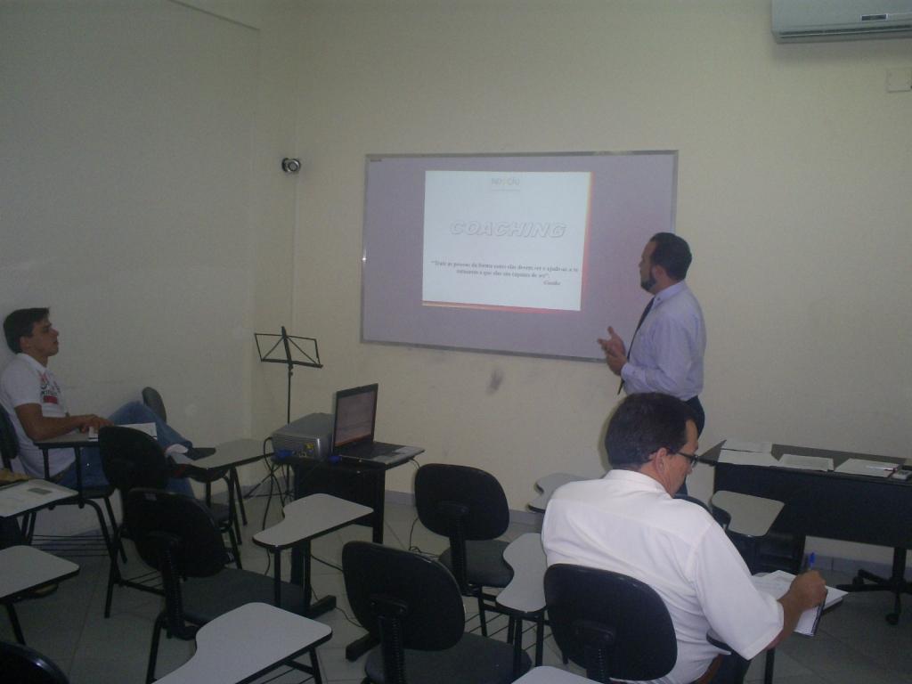 Treinamento em Liderança e em Vendas para a empresa Mr. Sabor - Fevereiro 2009