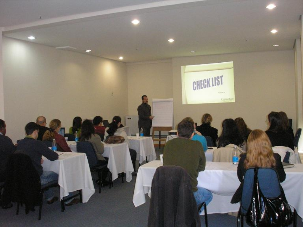 Treinamento Licitações e Oratória - Porto Alegre - Agosto 2008