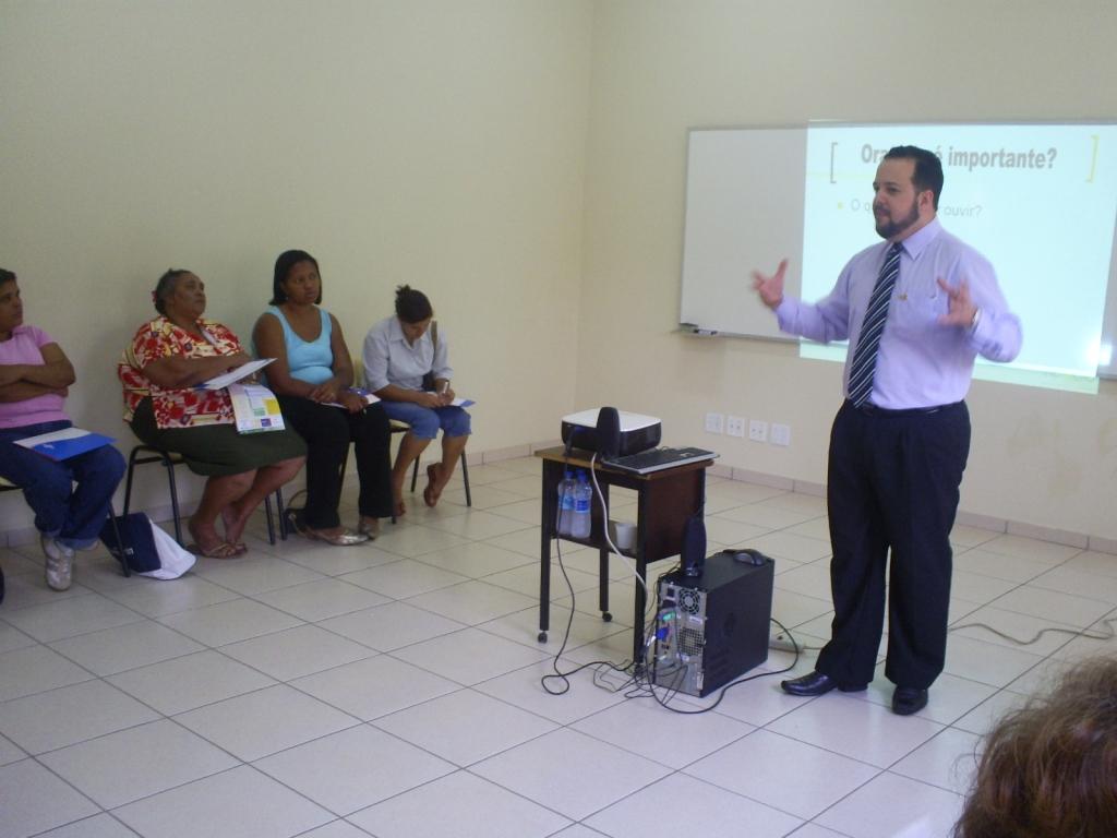 Treinamento Oratória - Setembro 2007