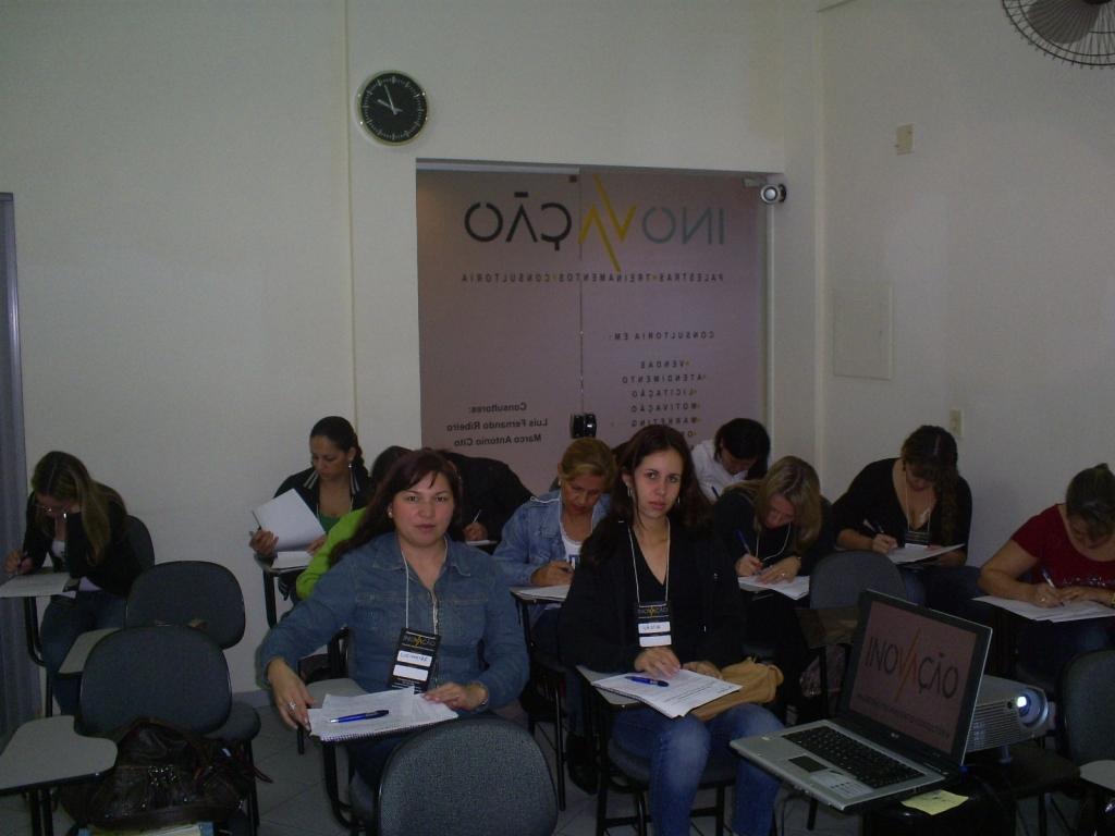 Treinamento Liderança - Grupo Queen Shoes/Arezzo - Junho 2007