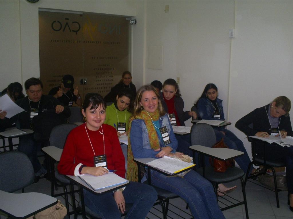 Treinamento Oratória - Grupo Queen Shoes/Arezzo - Maio 2007