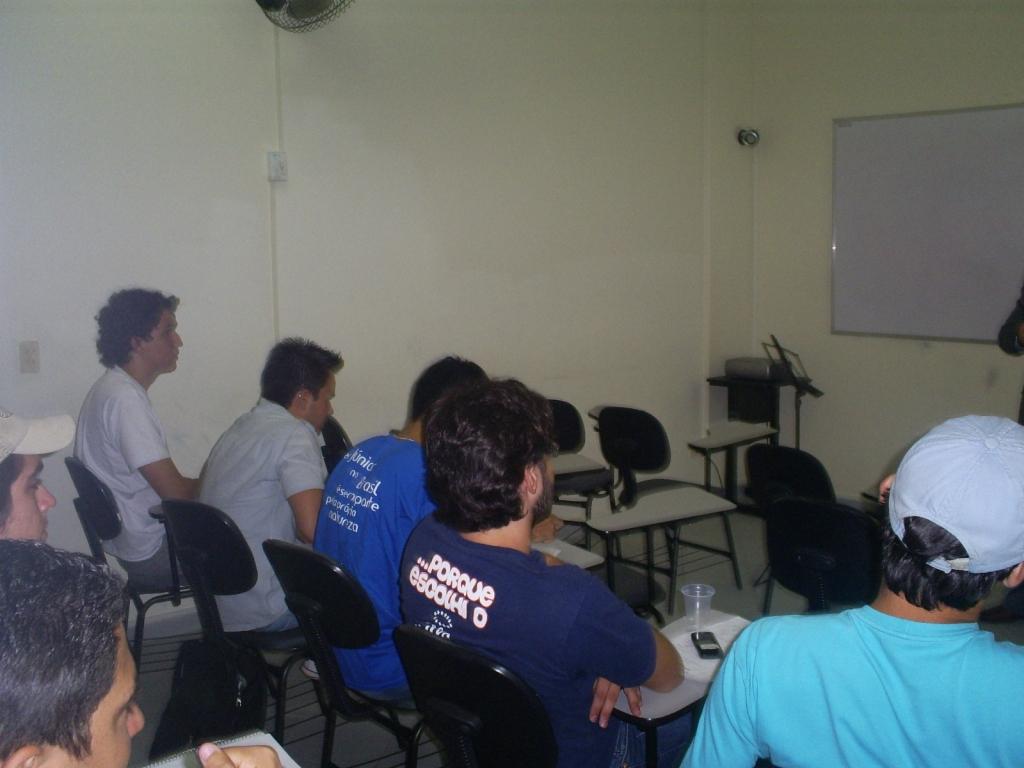 Treinamento Oratória - UEL - Dezembro 2008