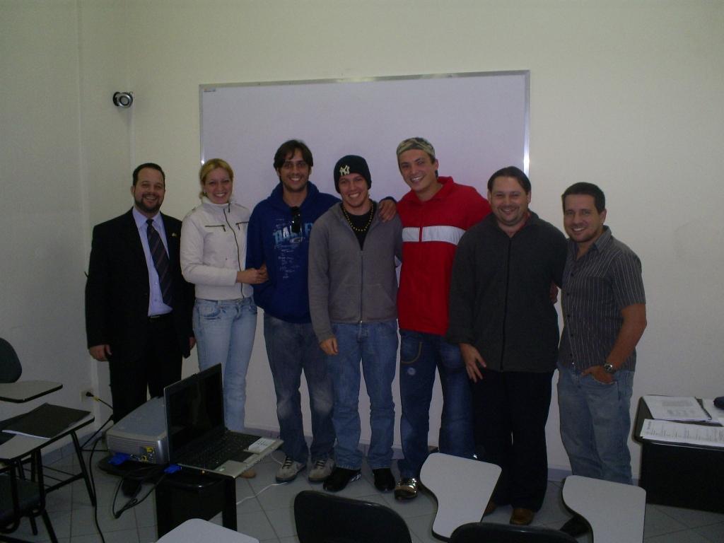 Treinamento Oratória - Abril 2008