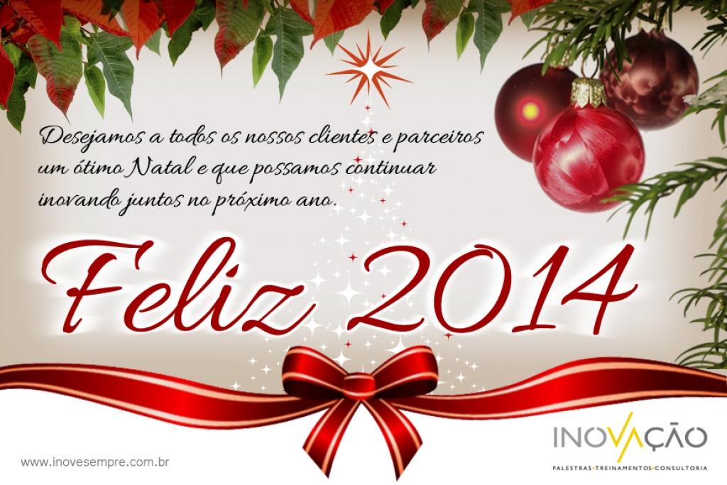 Ótimo Natal e Feliz 2014!