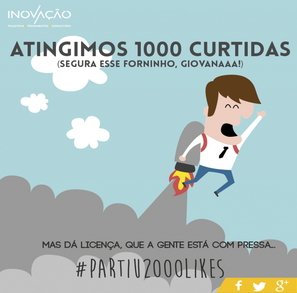Antingimos 1000 likes no Facebook!